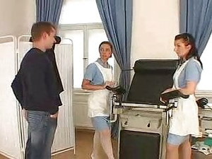 Czech Nurses Strapon