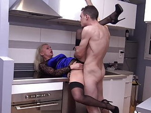 Black Stockings ELIZABETH ROMANOVA Hard Fucking