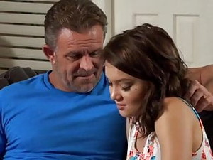 Dakota Skye Seeks Comfort From Dad