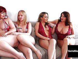 5 Girl Pussy Orgy! Rachel Storms Maggie Green Carmen V & ...