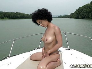 Getting Fucked In The Ass On A Boat