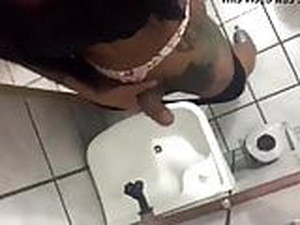 Sexy Shemale Cum In Toilet
