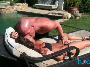 Incredibly Hot Beauty Is Picked Up By The Pool And Fucked Darn Great