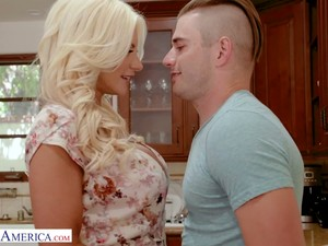 Stunning Curvy Auburn Housewife Brittany Andrews Is Poked Doggy