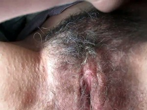 I Love To Finger Bang My Wife's Fat Hairy Cunt And Her Pussy Is Fat Indeed