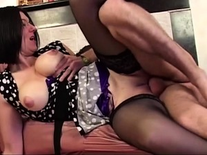 French Lady Takes Anal