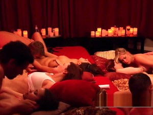 Couples Start A New Swinger Challenge In An Open Swing House