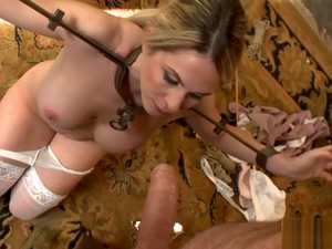 Angela Attison Gets Tied Up And Fucked