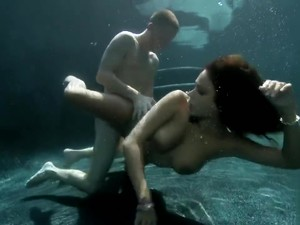 Sex Underwater Need A Hand Babe
