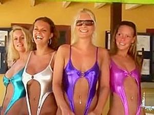 Samurai Sweethearts - Cute Rando 20 - Bikini Babes