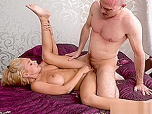 Blonde Big Breasts Tight Pussy