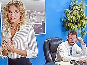 Blond,Büro,Sekretärin