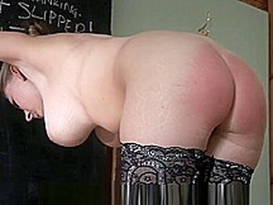 Blonde Chick Spanked Hard