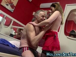 Real Mature Dutch Hooker