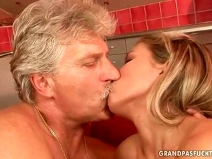 Grandpas And Pretty Teens Blowjob