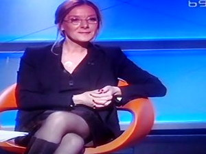 Oija Beckovic Stockings In TV