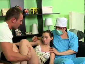 Luxurious Russian Brunette Maiden Gets Honey Pot Plowed