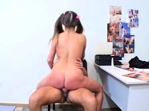 Dishy Brunette Girlfriend Becca Enjoys Perfect Fuck