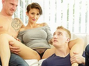 Gabrielle Gucci In Bi-Sexual Cuckold #09, Scene #04 - DoghouseDigital
