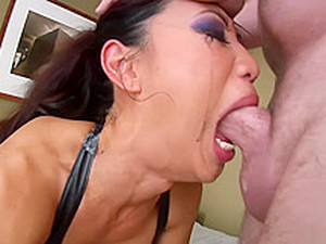 Sexy Asian Tia Ling Pro Cocksucker