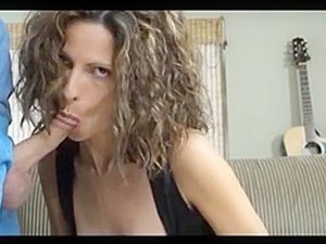 Hot Milf Bj With Cum On Tits