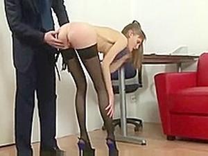 The Punishment For Skinny Secretary