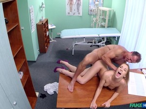 Horny Nurse Alexis Loves To Be Fucked By The Doctor During Work