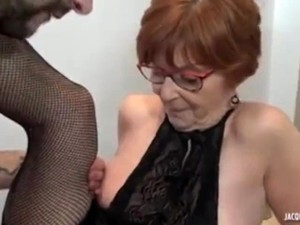 French Granny Anal