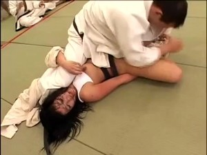 Japanese Girls Judo Match