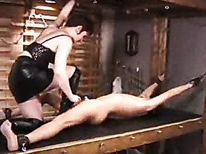 Electro Shock Pain For A Bound Guy