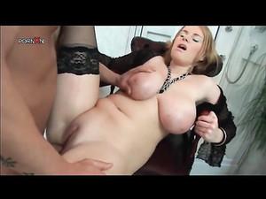 Amazing Big Natural Boobs On Hottie He Butt Fucks