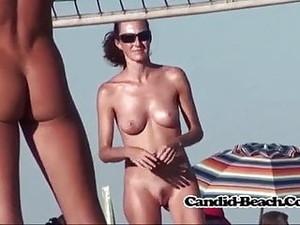 Nudist Beach Volley Spain Nude Girls