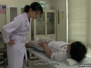 Kawaii Jap Nurse Sayaka Aishiro Is Happy To Give A Good Blowjob