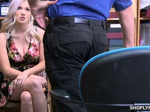 Guilty Busty MILF Lures Cop For Random Sex To Get Rid Of All The Fines