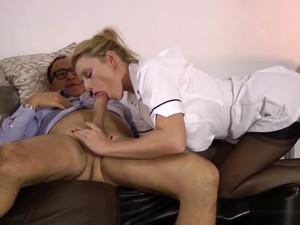 British Nurse Gets Oral