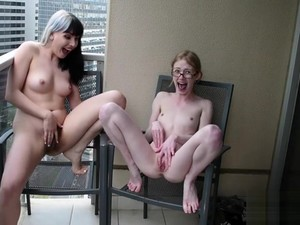 Hairy Girls Playing With Each Other And Peeing