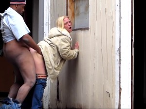 Cheap Prostitute Katie Fucked In Street