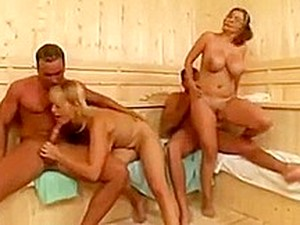 Constance Devil And Friend In Foursome