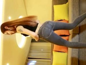 紧身牛仔裤热舞 Beautiful Asian Girl Sexy Dance