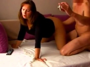 Cheating MOM Having A Real Orgasm With Young Boy