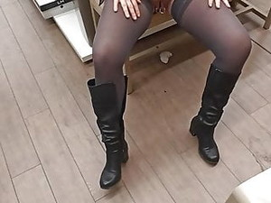 Shoes Shop With Her Piercings