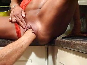 Nipple Pump And Fisted Cunt