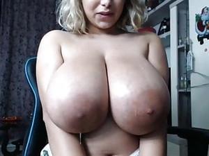 Huge Areola Massive Boobs Tits Spit Webcam BBW