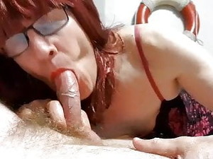 Sissy Cindy Crossdresser Sucks A Guy