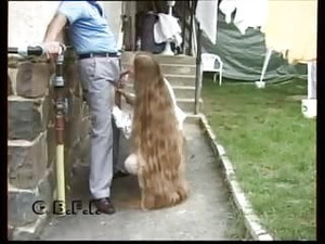 Long Hair Suck Grandpa