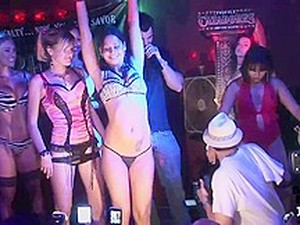 Lingerie Bull Riding And Contest - SpringbreakLife