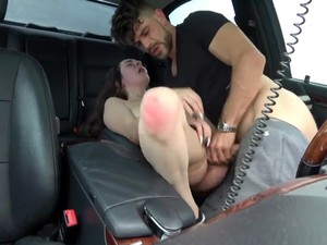 Stupid Screaming Whore Gets Her Squirt All Over My Car