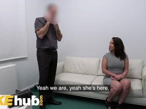 Fake Agent Spanish Babe Adara Love Rides Agents Cock