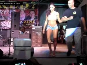 Naughty Daisy Dukes Contest Janessa Brazil