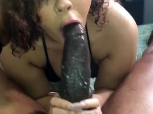 She Laughs While Sucking My Dick